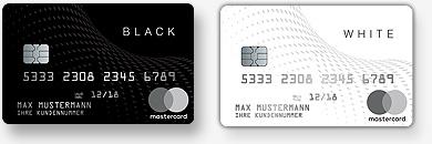 Hochwertige Prepaid Kreditkarte mit echter Hochprägung